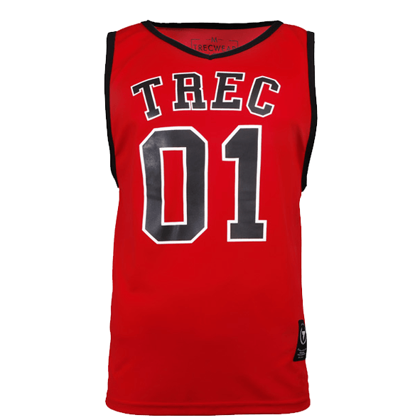 TW JERSEY 001 RED